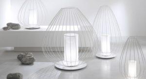 lampada per camera da letto moderna