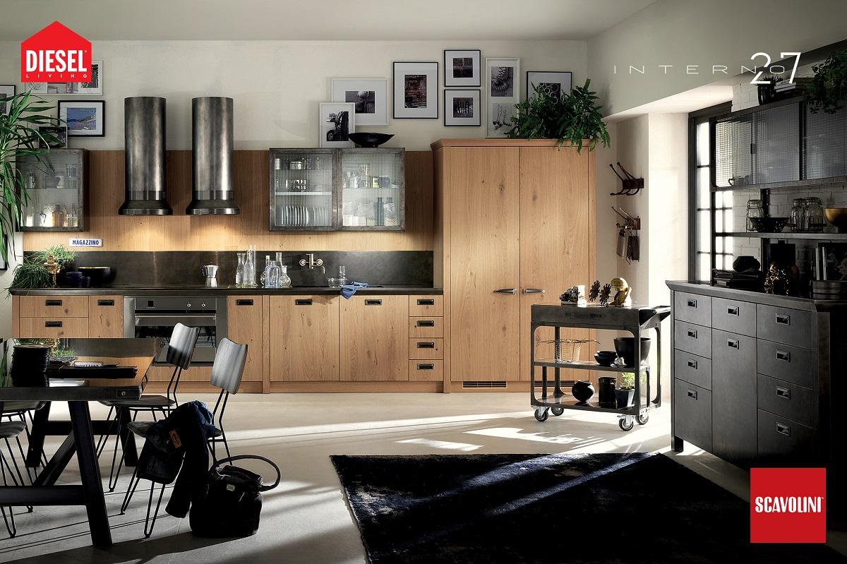cucine in-stile industriale